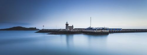Howth Harbour at sunrise