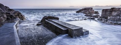 Forty Foot at sunrise