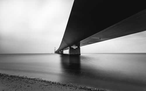 The Great Belt Bridge, Denmark