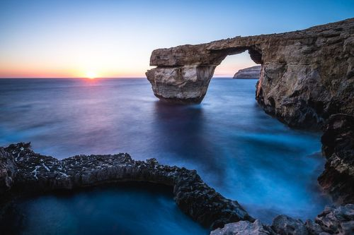 Azure Window & Blue Hole, Gozo, Malta